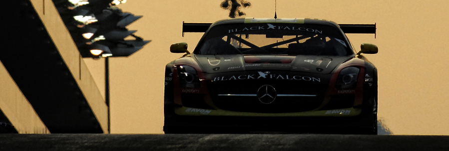 Abu Dhabi Falcon team during Gulf 12 Hour Abu Dhabi 2013
